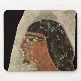 Relief of the head of a man mouse pad