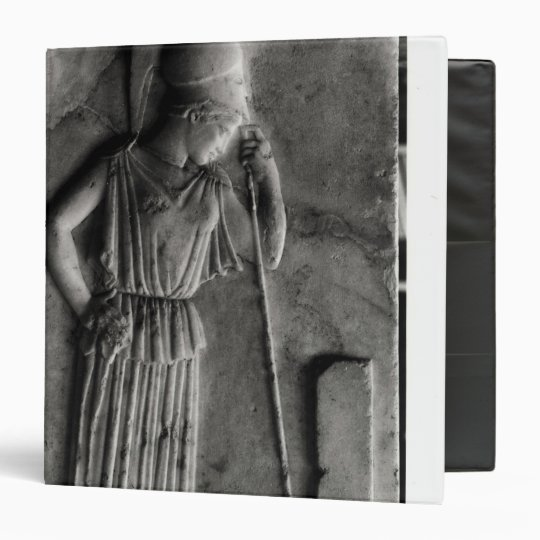 Relief of the Mourning Athena, c.460 3 Ring Binder