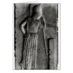 Relief of the Mourning Athena, c.460 Greeting Card