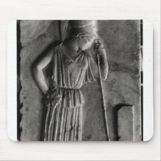 Relief of the Mourning Athena, c.460 Mouse Pad