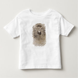 Relief of the sun from the facade toddler t-shirt