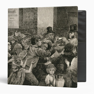 Relief of the Unemployed in London Vinyl Binders