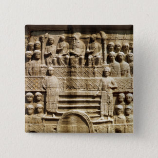 Relief on the base of the Obelisk of Theodosius Button