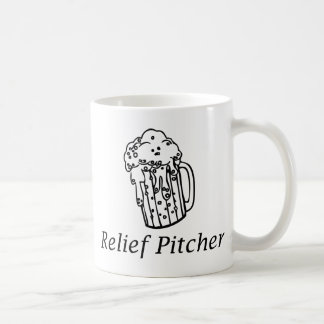 Relief Pitcher Coffee Mug