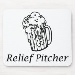 Relief Pitcher Mousepad