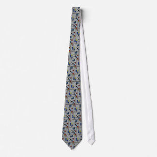 Relief rectangulaire by Sophie Taeuber-Arp Tie