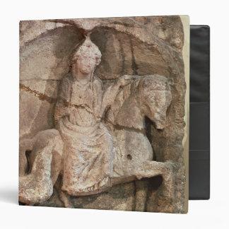 Relief representing Epona, Gaulish goddess Binder