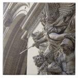 Relief sculpture on Arc de Triomphe in Paris, Ceramic Tile