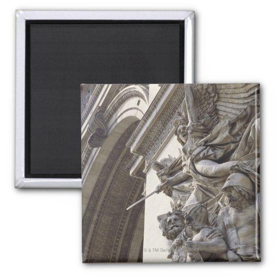 Relief sculpture on Arc de Triomphe in Paris, Magnet