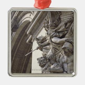 Relief sculpture on Arc de Triomphe in Paris, Metal Ornament