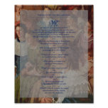 """""""Relief Society Declaration"""" Painting Sr. Document Posters"""
