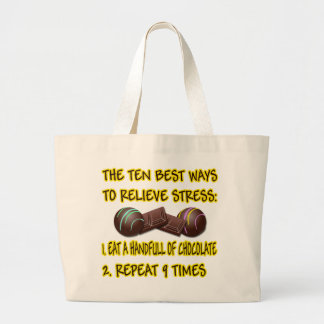 RELIEVE STRESS TOTE BAGS