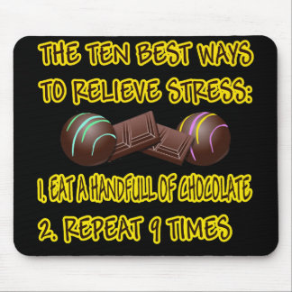 RELIEVE STRESS MOUSE PAD