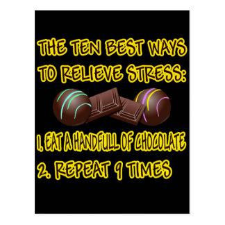 RELIEVE STRESS POSTCARD