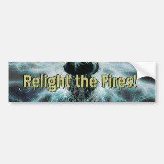 """Relight"" Seth William Chatfield sticker"