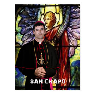 RELIGIIOSO SINALOA SAN CHAPO ORIGINALS PRODUCTS POSTCARD