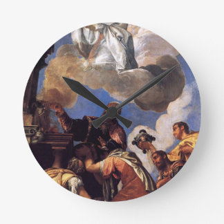 Religio and Fides (Religion and Faith) by Paolo Round Clock