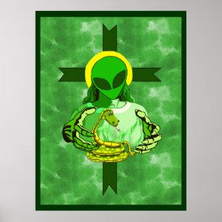 Religión americana posters