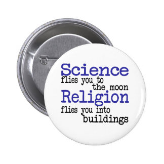 Religion and Science 2 Inch Round Button