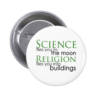 Religion and Science Buttons