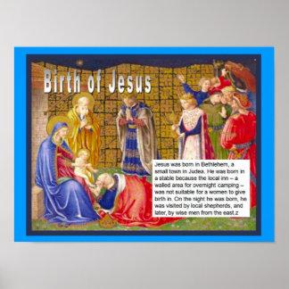 Religion, Christian, Jesus, Birth of Jesus Poster