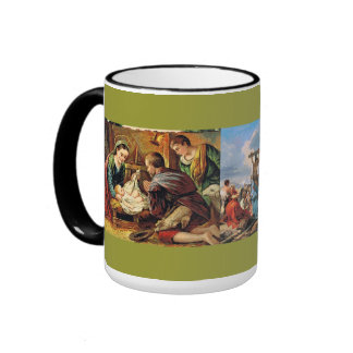Religion:  Christianity Ringer Coffee Mug