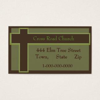 Religion Church Business Card