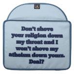 Religión CONTRA el ateísmo, parte 2 Funda Macbook Pro