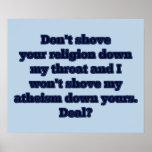 Religión CONTRA el ateísmo, parte 2 Poster
