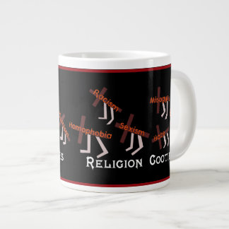Religión Cooties Taza Extra Grande