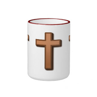 Religión:  Cristianismo Taza De Dos Colores