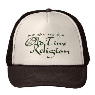 Religión de antaño gorro