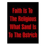 Religión de la avestruz postal