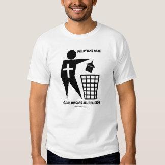 Religión de la basura (camisa ligera) playeras