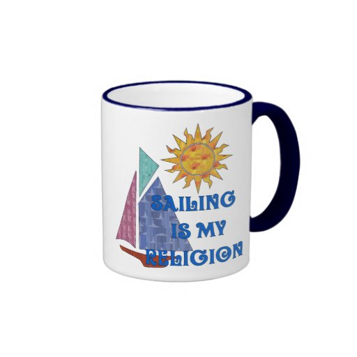 Religión de la navegación tazas