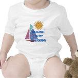 Religión de la navegación trajes de bebé