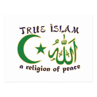 Religión de la paz postales