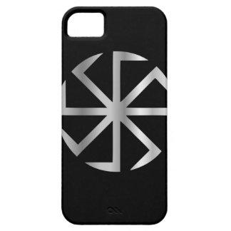 Religión de Slavik el símbolo de Kolovrat iPhone 5 Carcasa