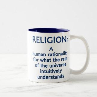 Religion Defined Coffee Mugs
