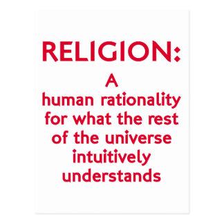 Religion Defined Postcard