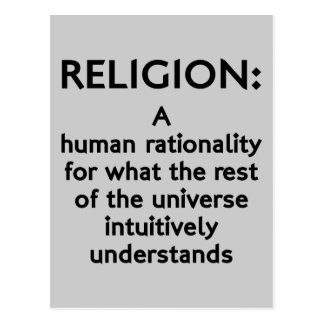 Religion Defined Postcard
