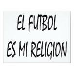 Religión del EL Futbol Es MI Invitacion Personal