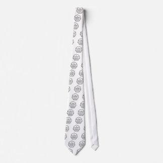 Religión del heptágono corbata personalizada