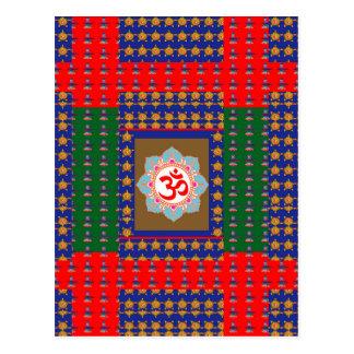 Religión del Hinduism de OmMantra ShivaLinga del Tarjetas Postales