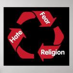 Religión del miedo del odio poster
