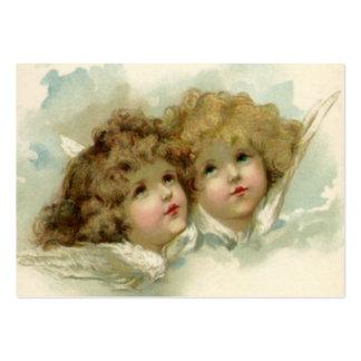 Religión del vintage, ángeles del navidad del tarjeta personal