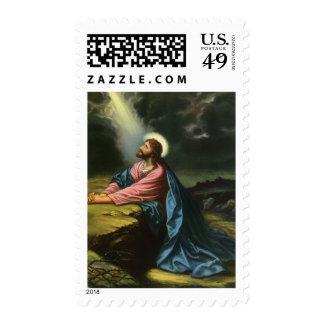 Religión del vintage, Gethsemane, rogación del Estampillas
