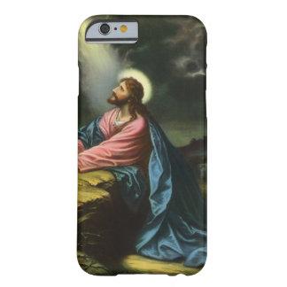 Religión del vintage, Gethsemane, rogación del Funda De iPhone 6 Barely There