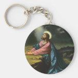 Religión del vintage, Jesucristo que ruega, Gethse Llavero Personalizado