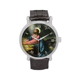 Religión del vintage, Jesucristo que ruega, Relojes